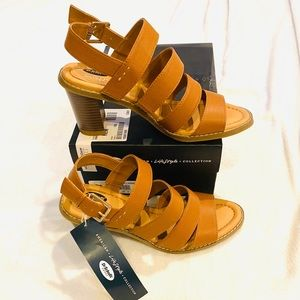 Dr. Scholl's Tan Sandal Strappy Heels